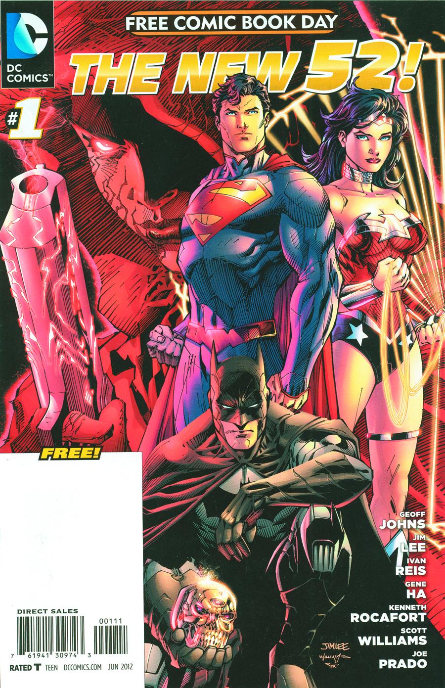 STK460685 Free Comic Book Day 2012: Reviews!