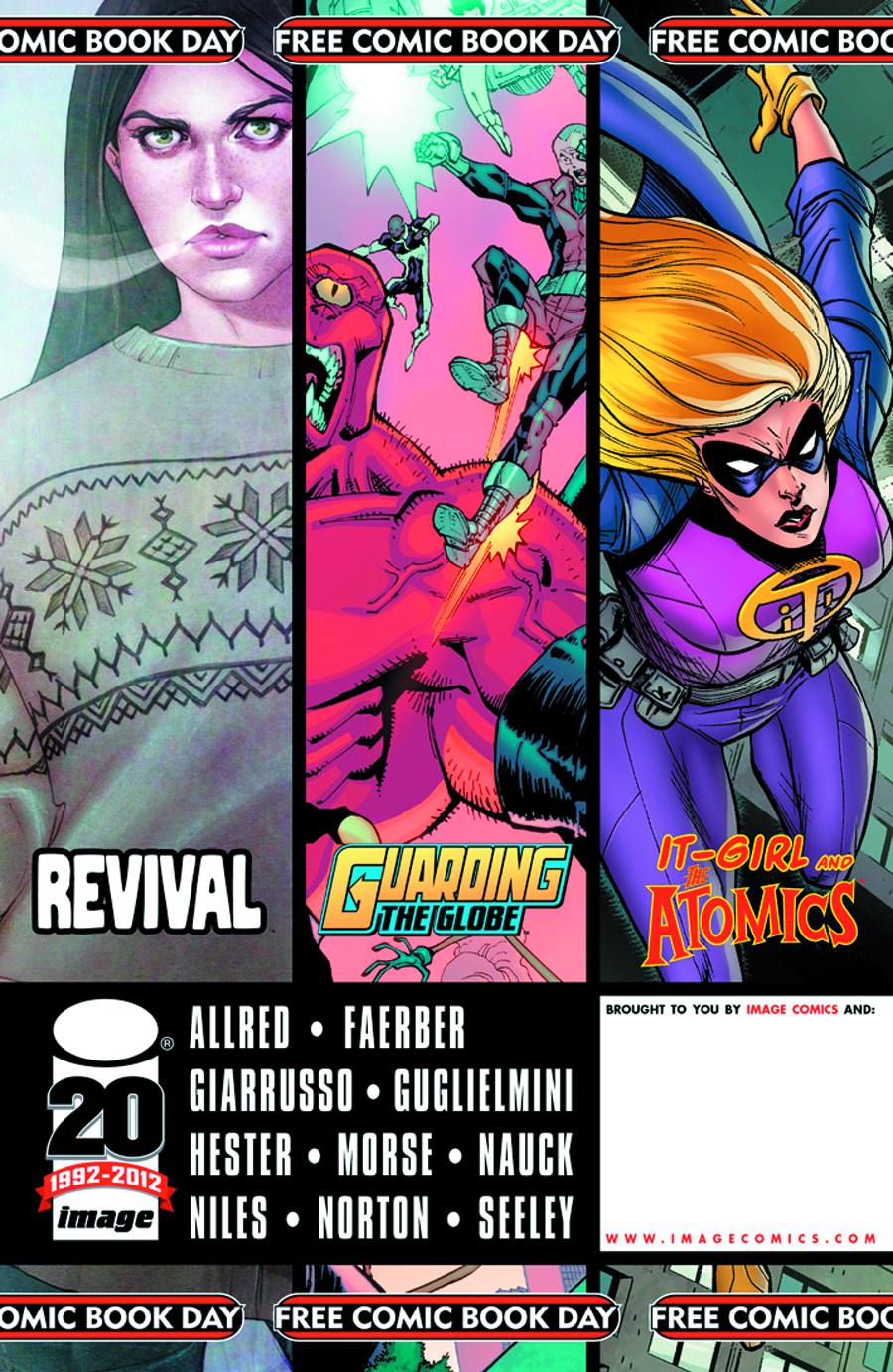 STK460687 Free Comic Book Day 2012: Reviews!