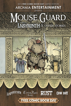 Mouse Guard, Labyrinth and More HC Flip Book