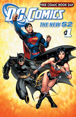 DC Comics -- The New 52 FCBD Edition