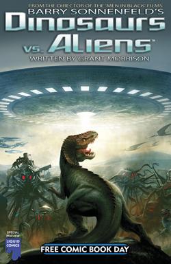 FCBD 2012 Dinosaurs versus Aliens