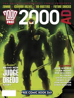 2000AD Judge Dredd Special