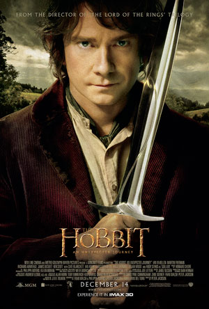 The Hobbit: An Unexpected Journey IMAX Movie Poster