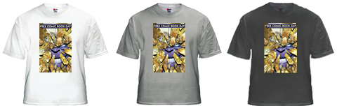 FCBD 2012 Commemorative T-Shirt Design by Jim Lee