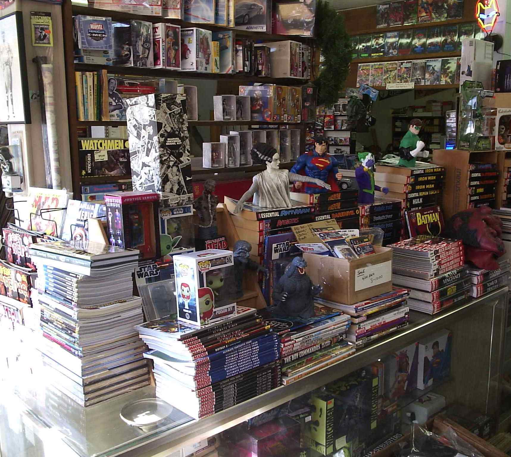 Comic Shop Spotlight: Bob's Hobbies