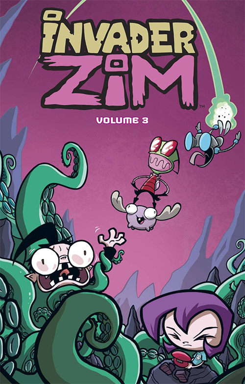 Invader Zim Returns to Finish the Job In New TV Movie - Free Comic Book Day