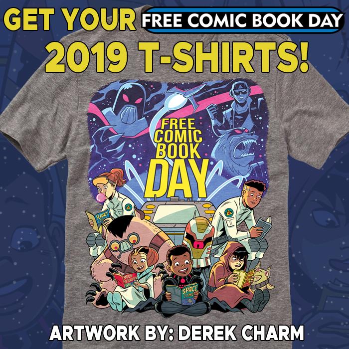 Free Comic Book Day Banner: FCBD 2019 Site Downloads