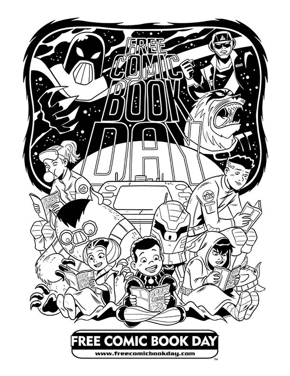 FCBD 2019 Site Downloads - Free Comic Book Day