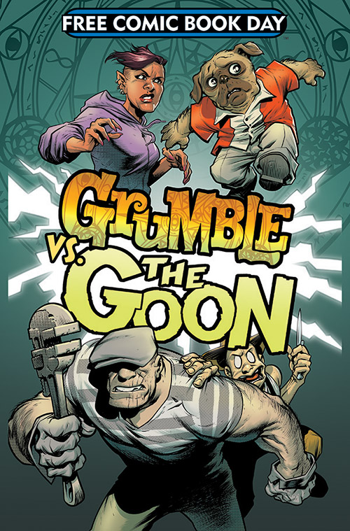 Free Comic Book Day, FCBD, Grumble, The Goon, Albatross Funnybooks