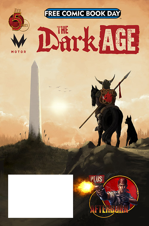Free Comic Book Day, FCBD, The Dark Age, Afterburn, Red 5
